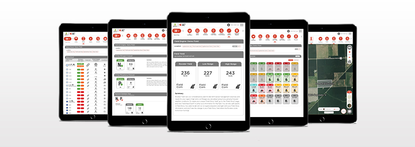 Grower Software on iPad
